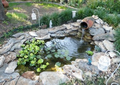 Pond With Pot Waterfall 2